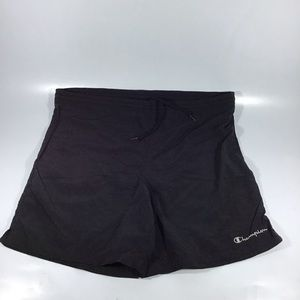 Men's champion Medium black swim trunks